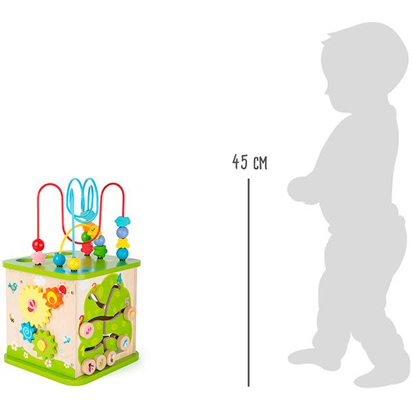 Cubo-de-motricidad-con-pista-de-canicas-juguete-madera-04