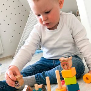 Juguetes para bebes montessori